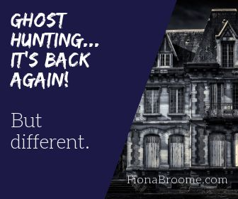Ghost hunting... it's back again, but different in 2019.