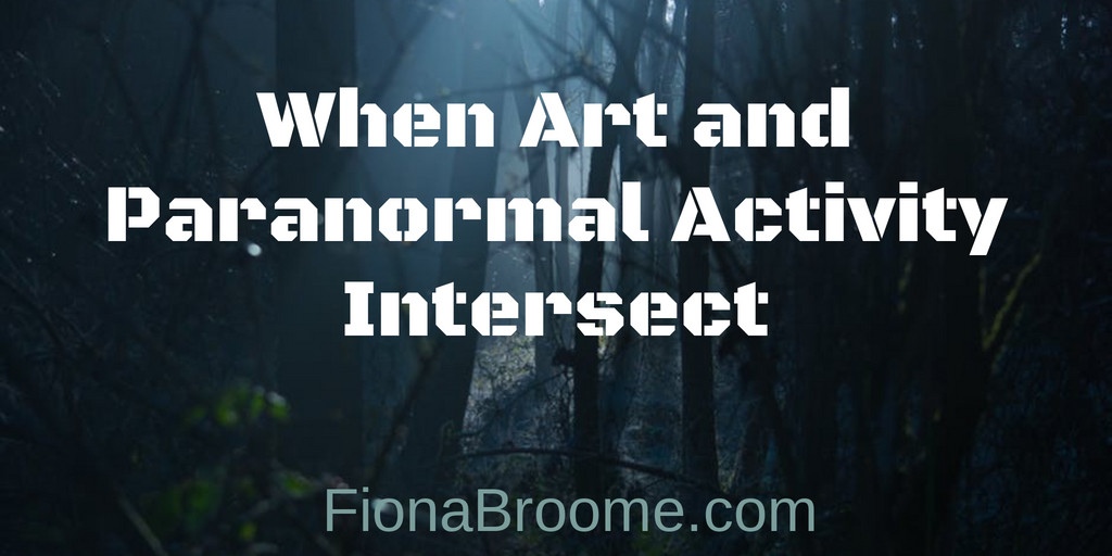 When art and paranormal activity intersect