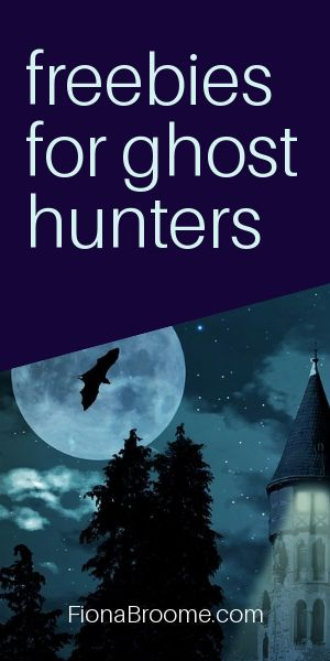 Free downloads for ghost hunters, from Fiona Broome