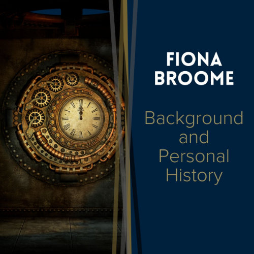 Fiona Broome - background and personal history